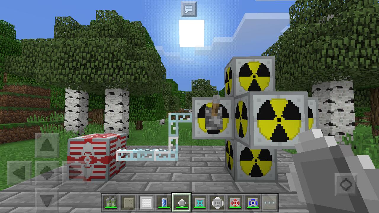 моды ядерного реакторана майнкрафт пе 0.15.10 #1